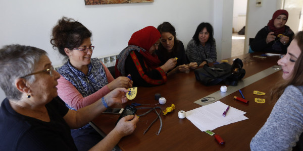 Parents Circle Sewing Session