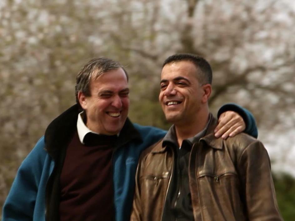 Mazen Faraj and Rami Elhanan