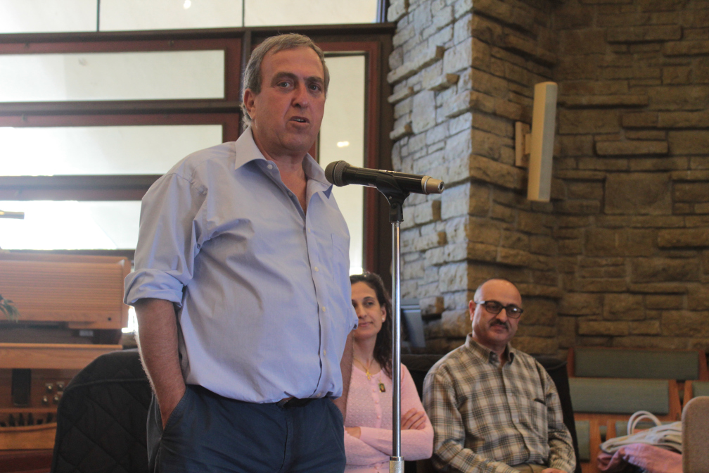 Rami Elhanan and George and Najwa Sa'adeh