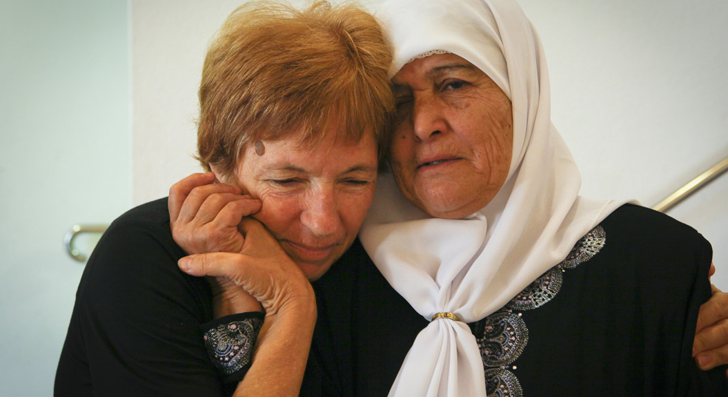 Israeli and Palestinian members of the Women's Group