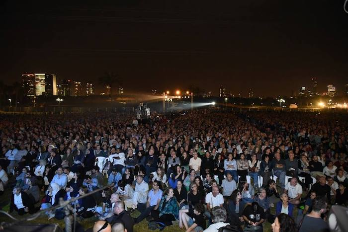 The Israeli-Palestinian Memorial Day Ceremony, held on April 17th and attended by over 7,000 Israelis and Palestinians