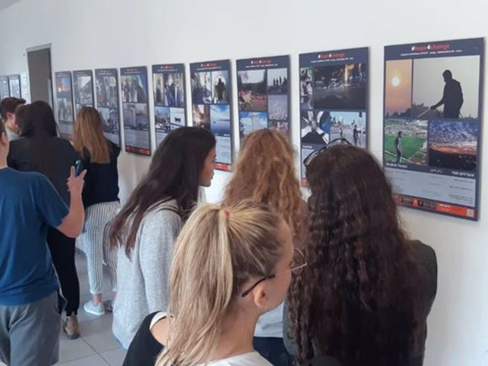 The Young Ambassadors for Peace program completed its first year of leadership training for bereaved Israeli and Palestinian youth, concluding in the #Hope4Change photo exhibition