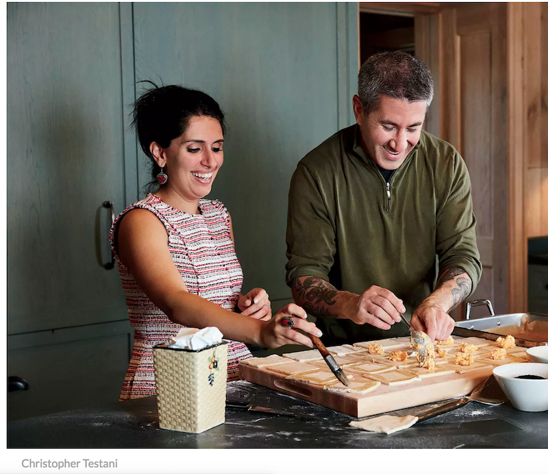 Chefs Michael Solomonov and Reem Kassis