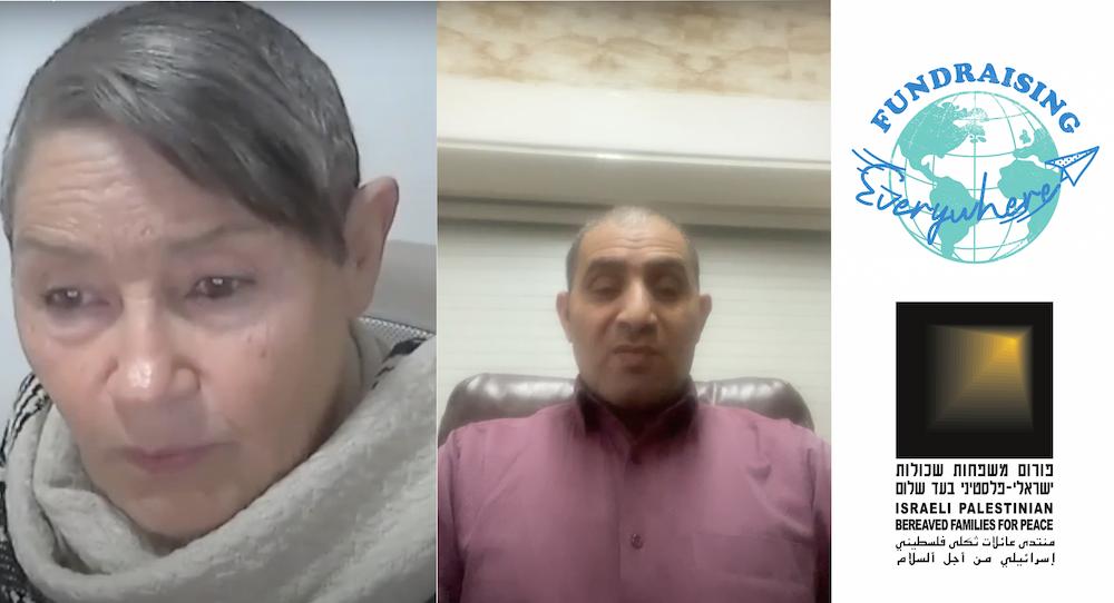 Video: Robi Damelin & Bassam Aramin speaking at the Fundraising Everywhere Festival 2020