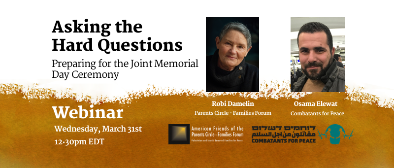 WEBINAR — Asking the Hard Questions: Preparing for the Joint Memorial Day Ceremony