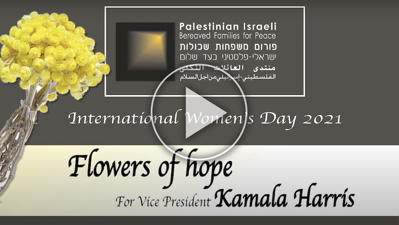 Flowers of Hope on International Women's Day