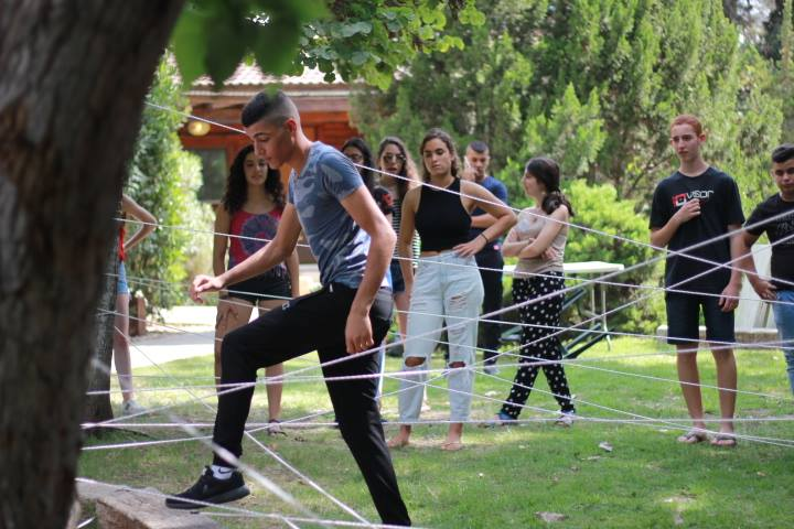 ODT (Out Door Training), a team building and ice breaking activity