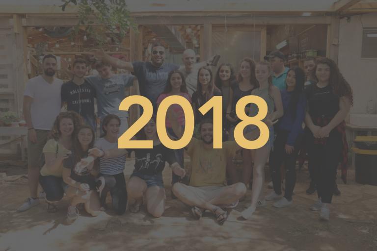 2018 Year overlay image