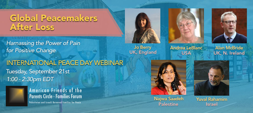 Webinar – Global Peacemakers After Loss